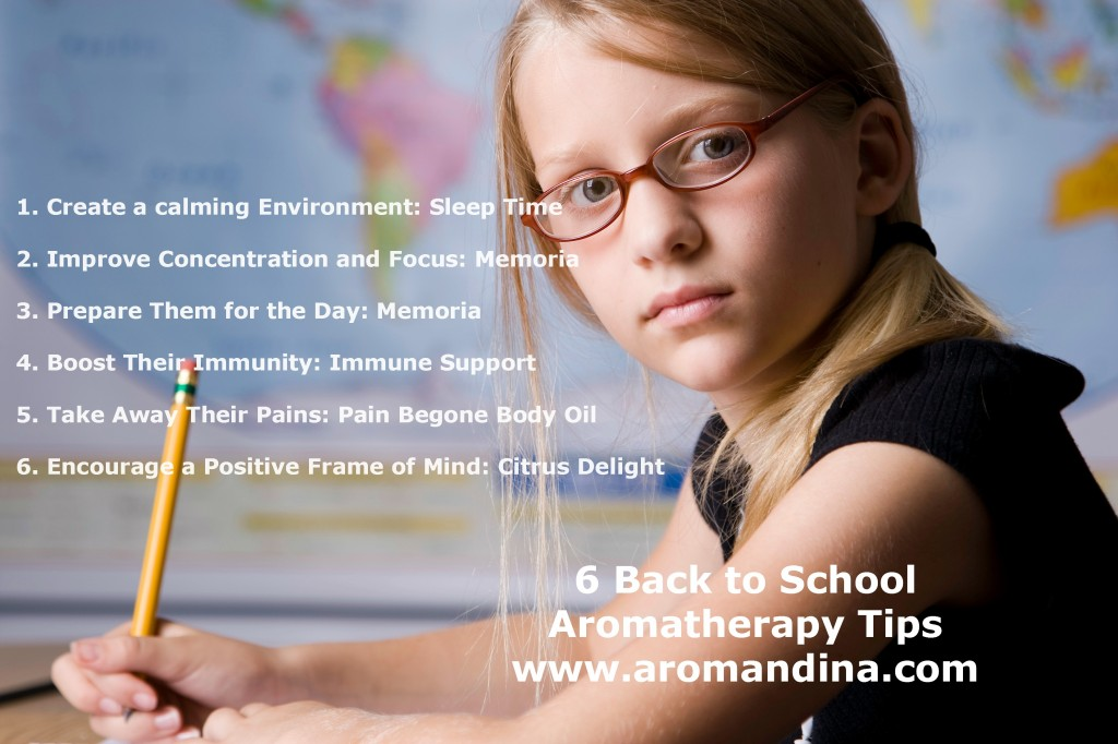 6 back to school aromatherapy tips