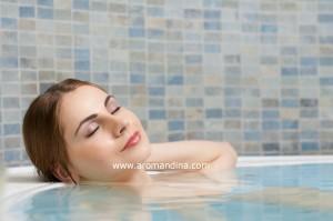 Aromatherapy ritual bath
